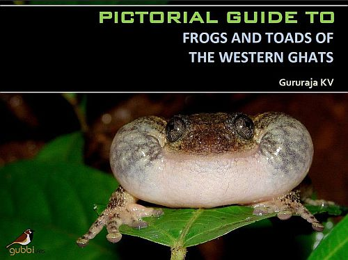 Pictorial Guide to Frogs and Toads of the Western Ghats by Dr. KV Gururaja