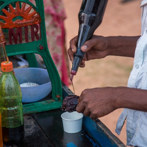 Ice Gola or Shave Ice Making