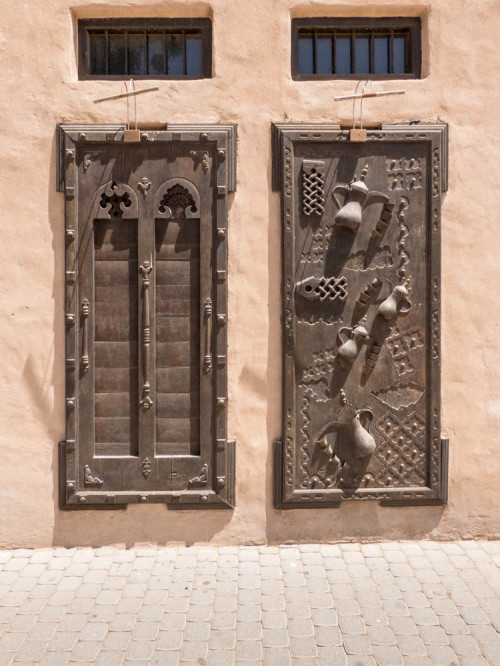 Examples of doors in Classical Architecture Museum