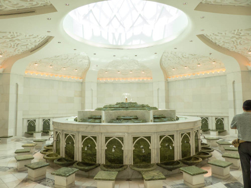 Rest Room of Sheikh Zayed Grand Mosque