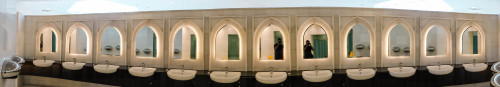 Panorama of Rest Room of Sheikh Zayed Grand Mosque