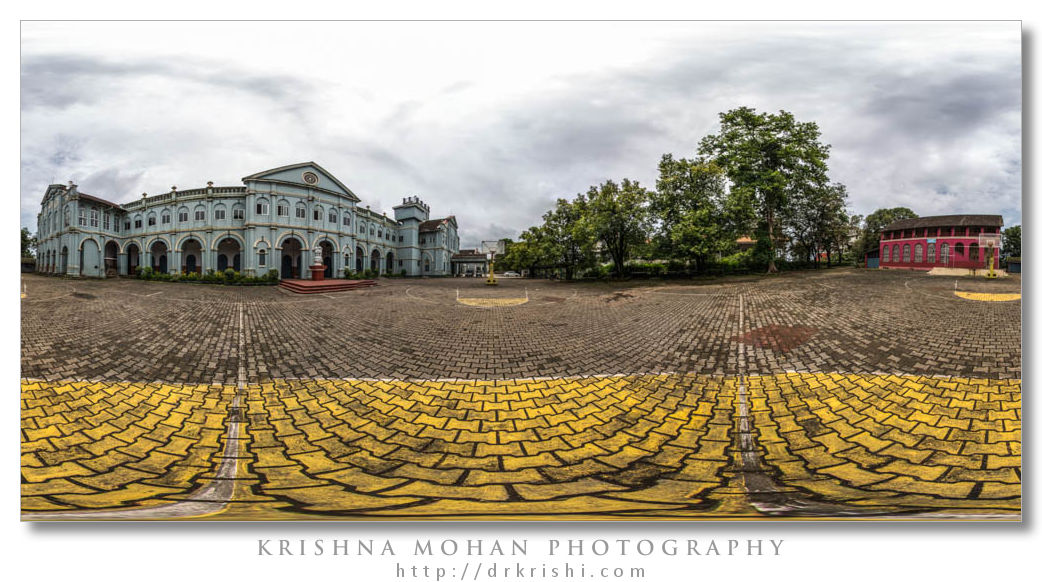 Blended Panorama with a Fish Eye Lens