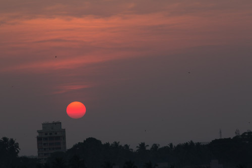 Sunset Over Mangalore Before PP