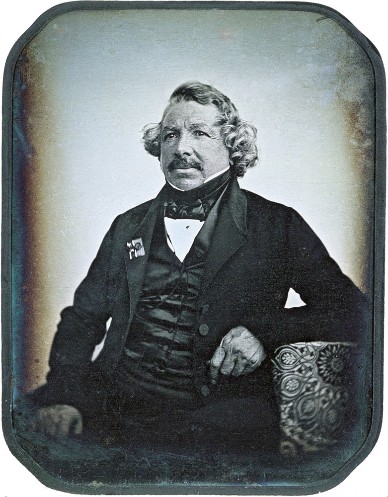 Portrait of Louis Daguerre (1787-1851)