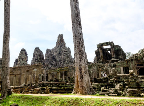 West side of Bayon