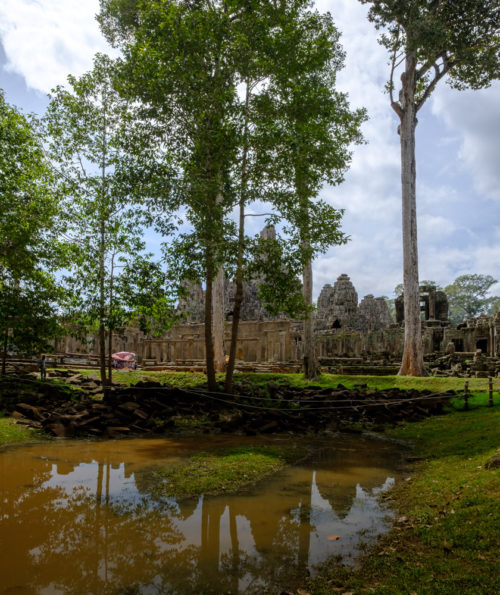 Reflection of Bayon