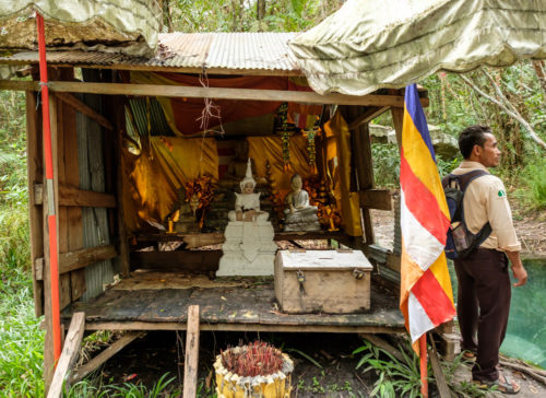 Buddhist shrine at Kbal Spean