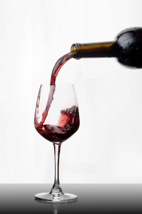 Wine Pouring Captured
