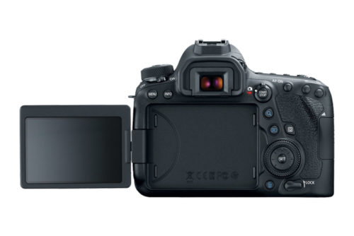 Canon EOS 6D Mark II Back LCD