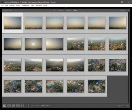 Import and Colour Correct in Lightroom