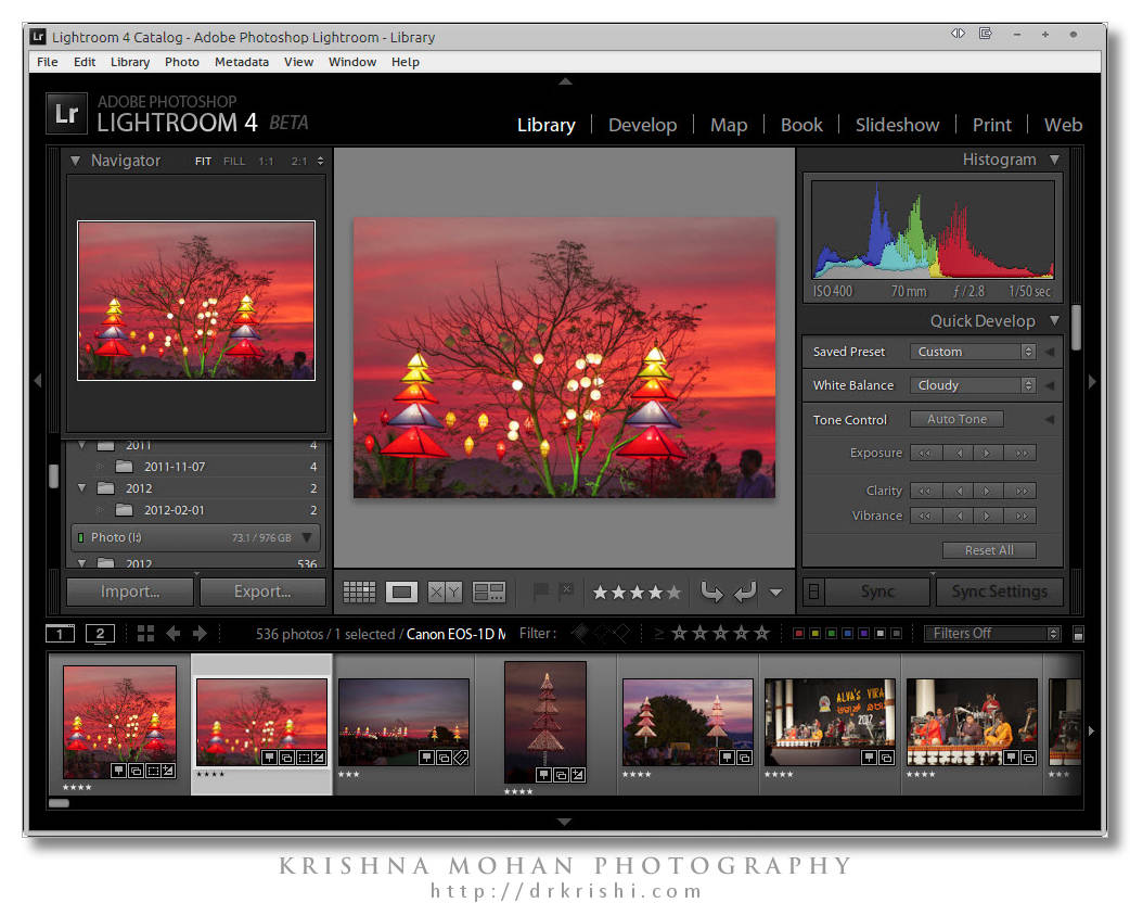 Adobe Lightroom 4 Beta Review – Krishna Mohan Photography