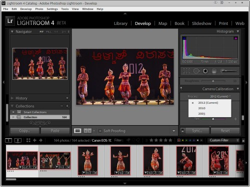 New Develop Process Version 2012 in Lightroom 4 Beta