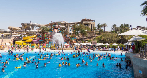 Breaker's Bay in Wild Wadi Waterpark