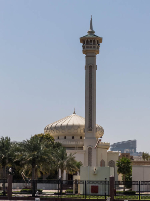 Ali Bin Abi Taleb Mosque in the Bastakia Quarter