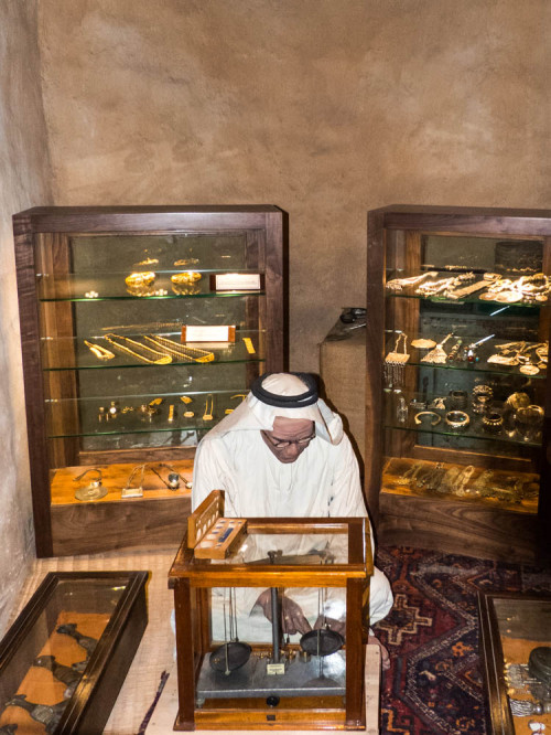 Jeweller in Dubai Museum
