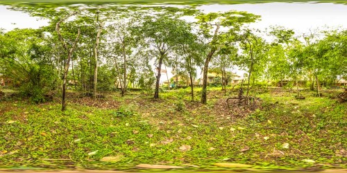 Blended panorama view