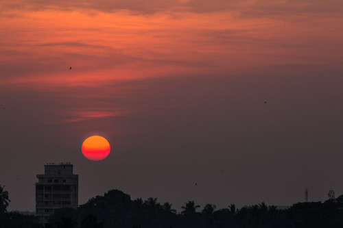Sunset Over Mangalore After PP