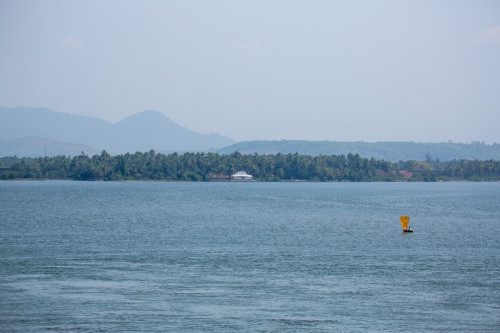 Sailboat Over Sharavathi at 150mm