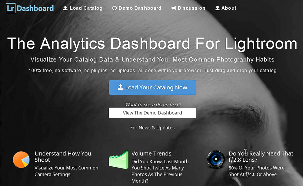 Lightroom Dashboard