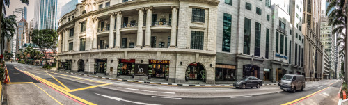 Robinson Road, Singapore Panorama