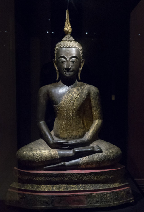 Seated Buddha, Thailand 17th century