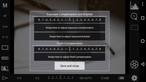 Exposure Compensation & Bracketing