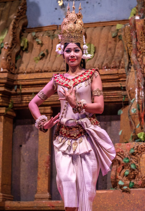 Robam Tep Apsara (Dance of the Apsara Divinities)