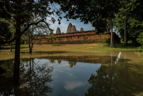 East Mebon With reflection