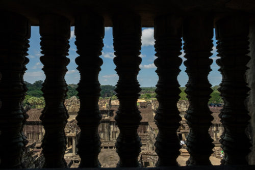 View from upper Gallery