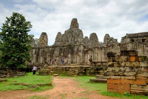 East face of Bayon