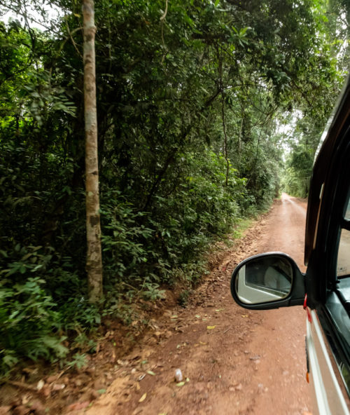 Road to Kulen mountain