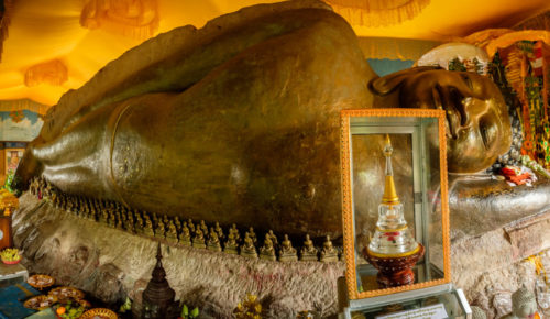 Reclining Buddha of panorama
