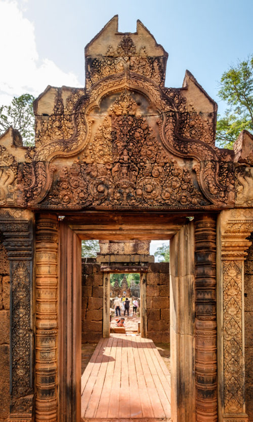 Entrance Gate of Banteay Srei