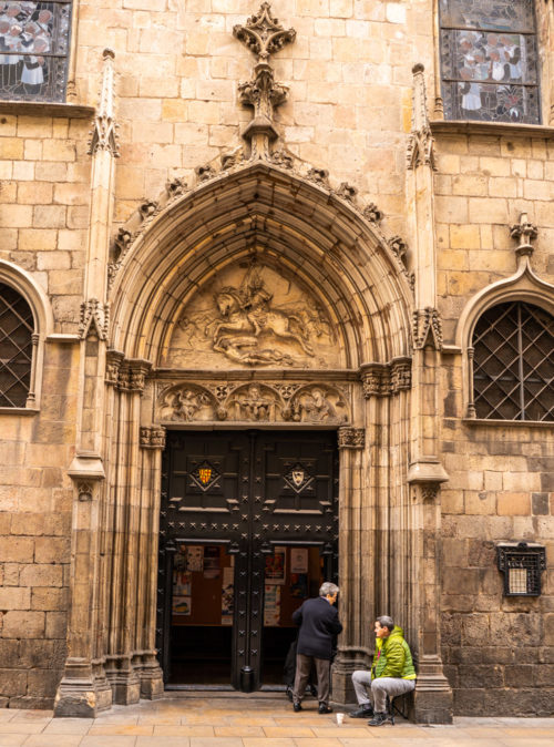 Streets of Gothic Quarter