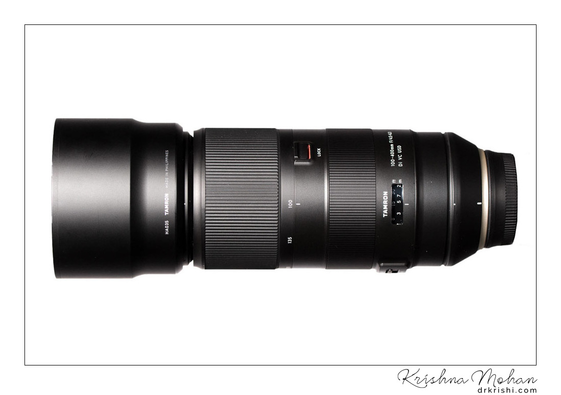 Tamron 100-400mm f/4 5-6 3 VC USD Brief Hands-on Review – Krishna