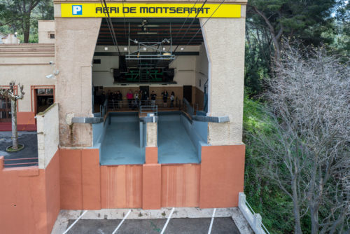 Montserrat Cable car station