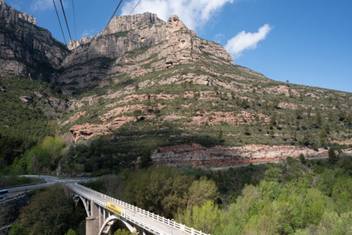 From the Montserrat Cable car