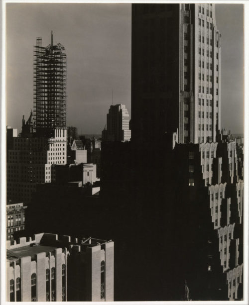 Alfred Stieglitz, From My Window at the Shelton, North, 1931