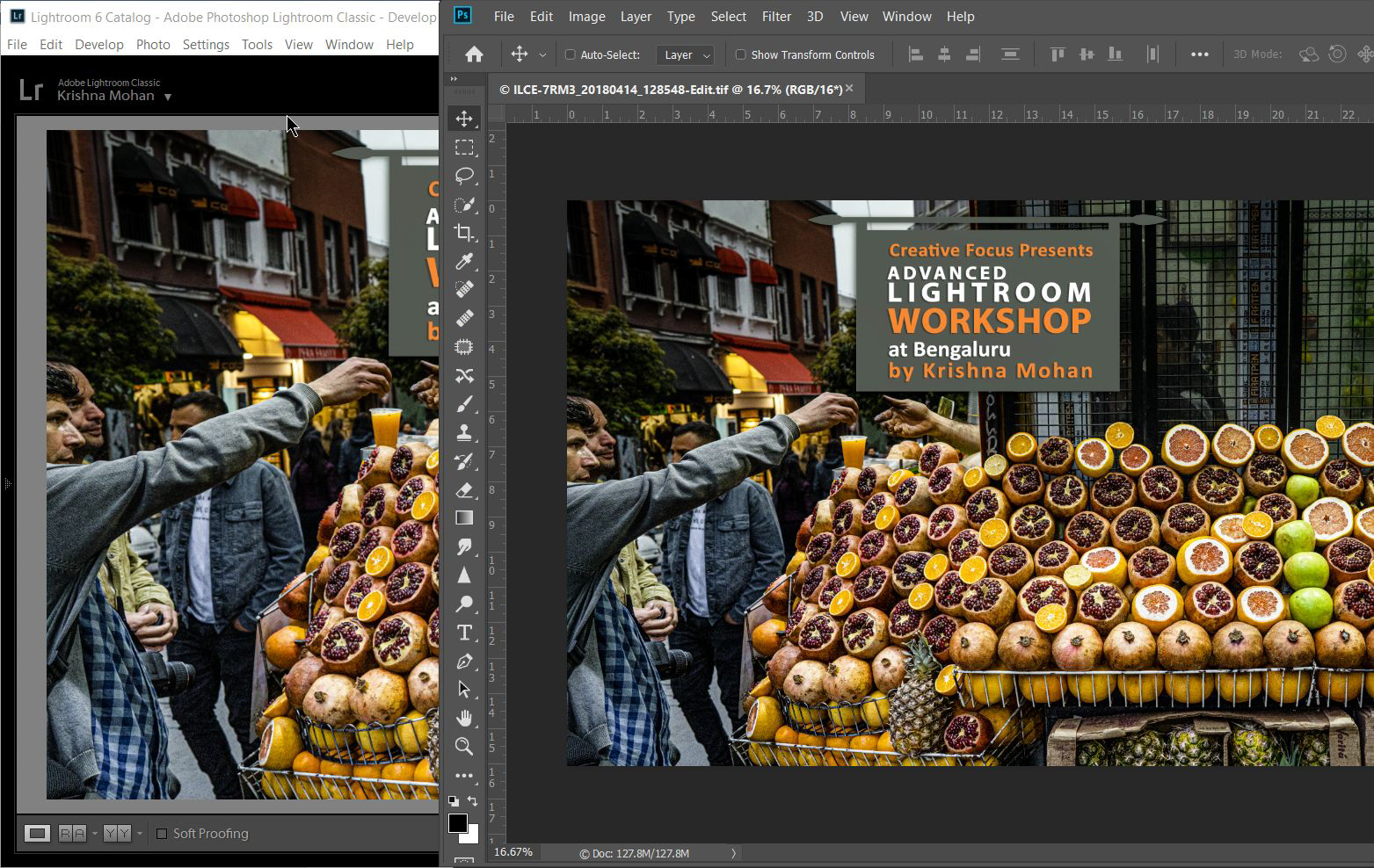 Transfer Images from Lightroom to Photoshop