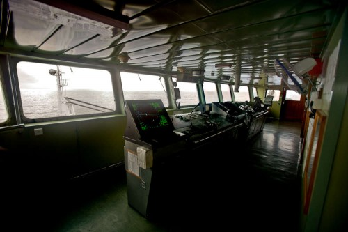 Ship's Main Control Room
